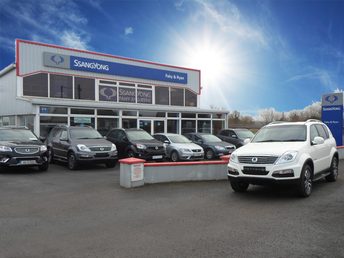 Fahy and Ryan Car Sales Kilkenny