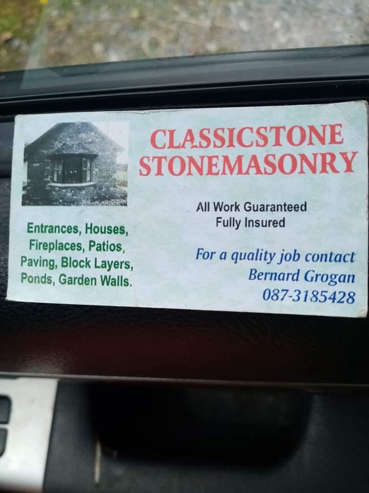 Classic stone stonemasonry