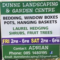 Dunne Landscaping and Garden Centre Limited Clonaslee