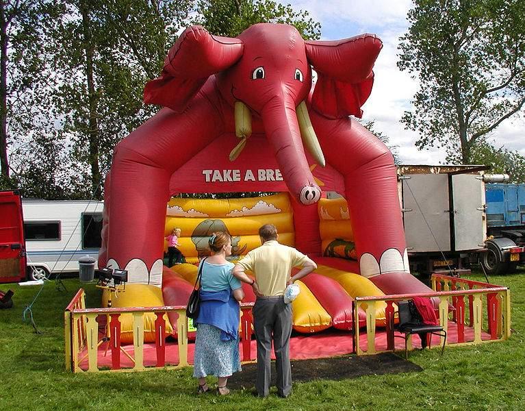 b j bouncy castles