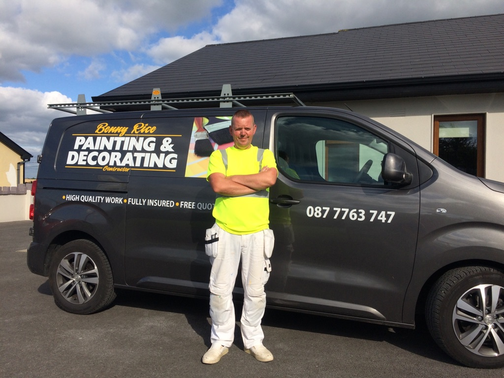 Painter and Decorator Templemore Benny Rice