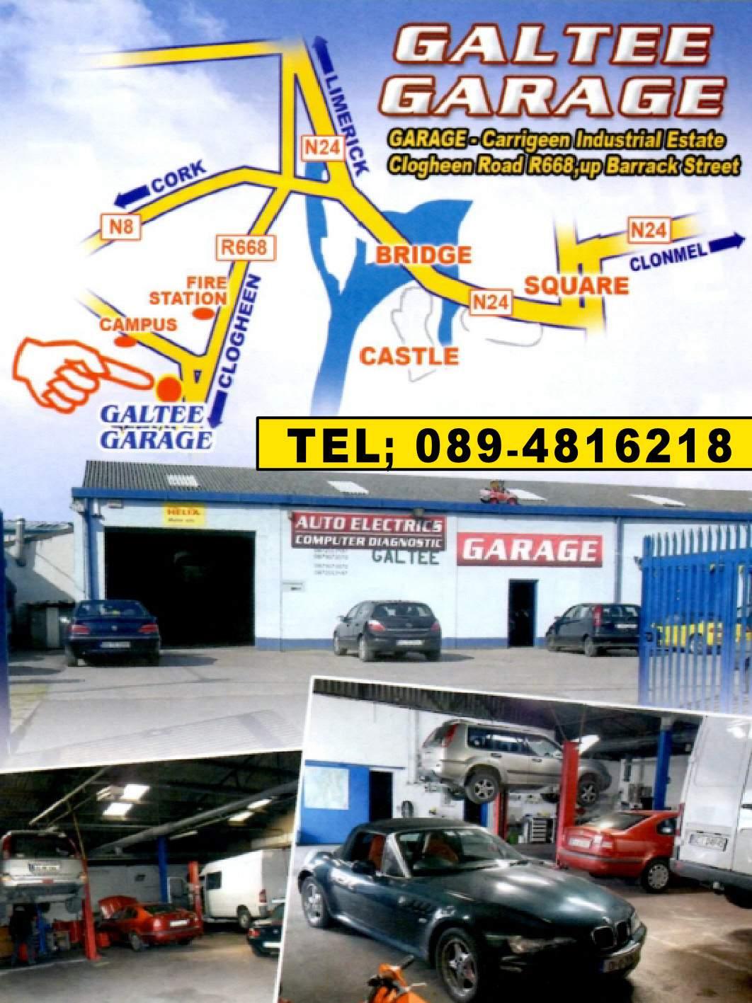 Galtees Garage Cahir