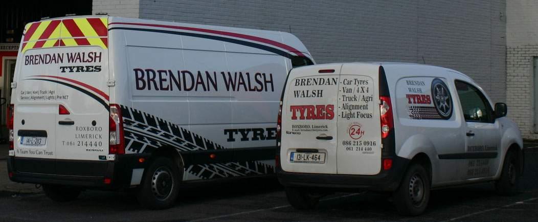 Brendan Walsh Tyres Limerick
