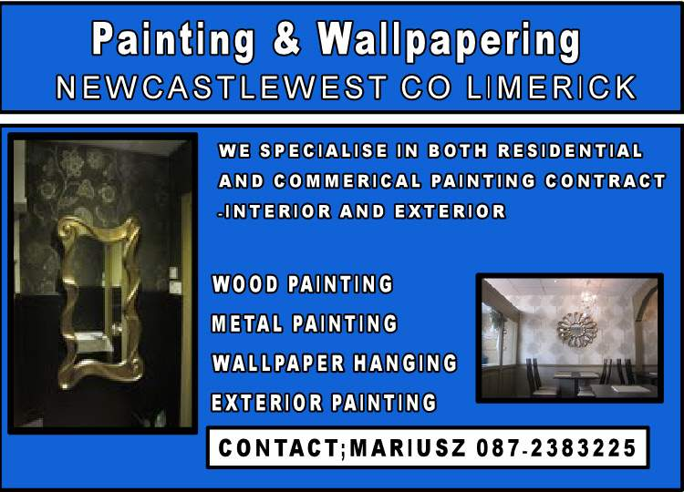 painting and wallpapering newcastlewest