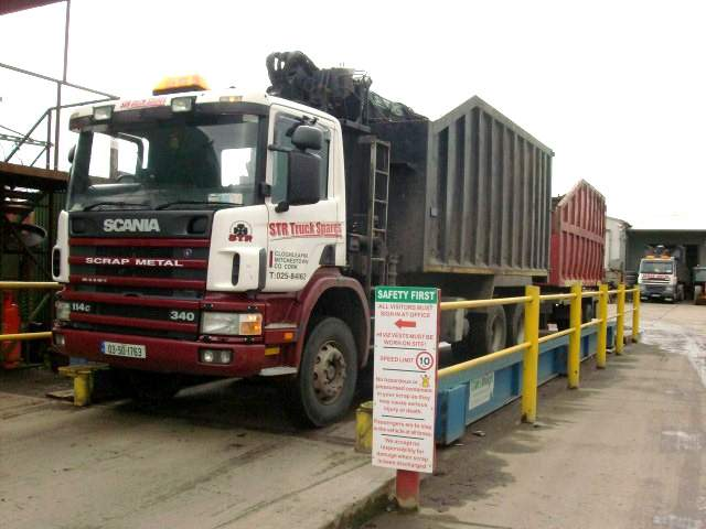 STR TRUCK RECYCLING CORK