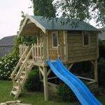 AURIE TIMBER PLAYHOUSES