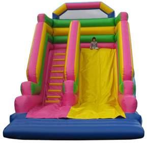 bouncy castle man