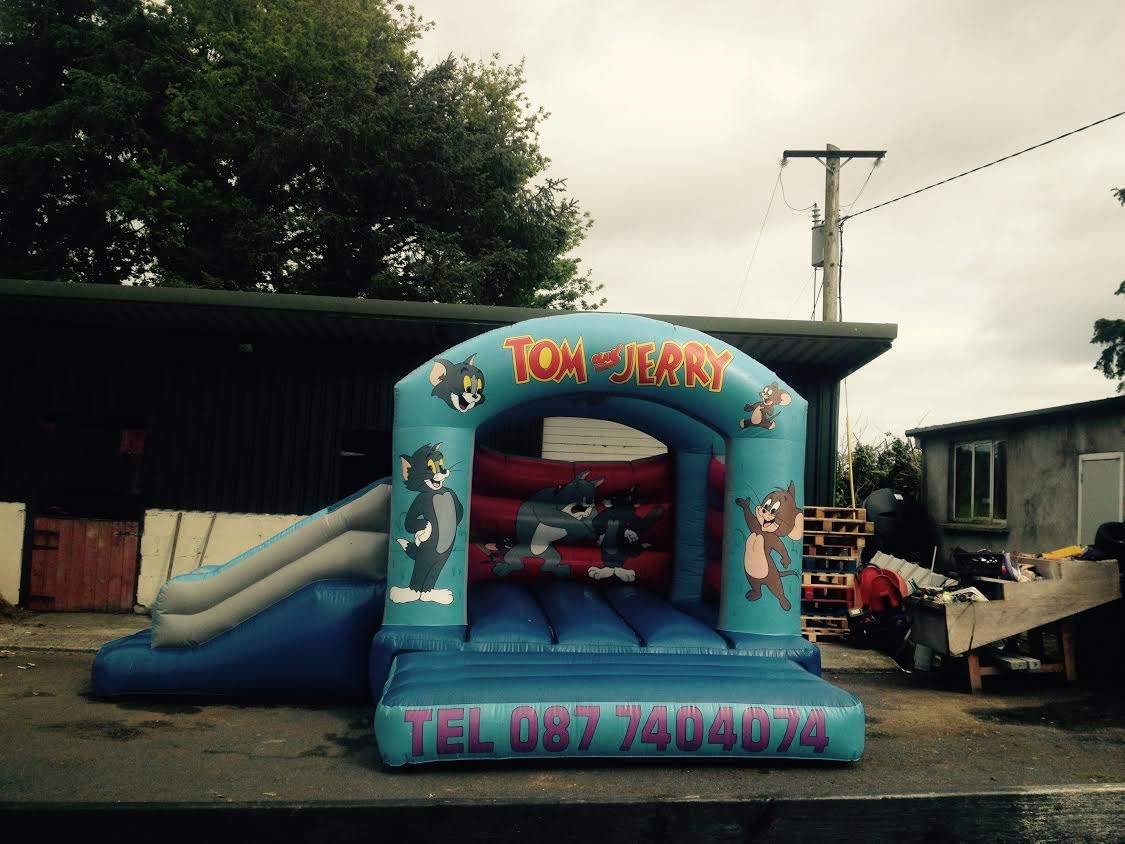 Tom and Jerry Bouncy Castles
