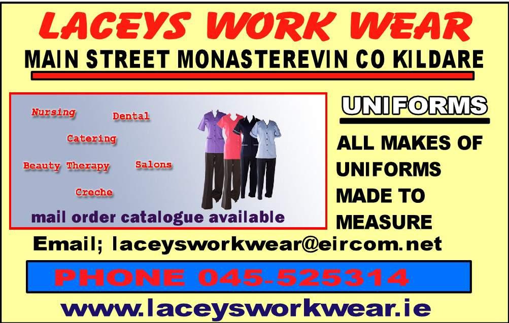 laceys work wear