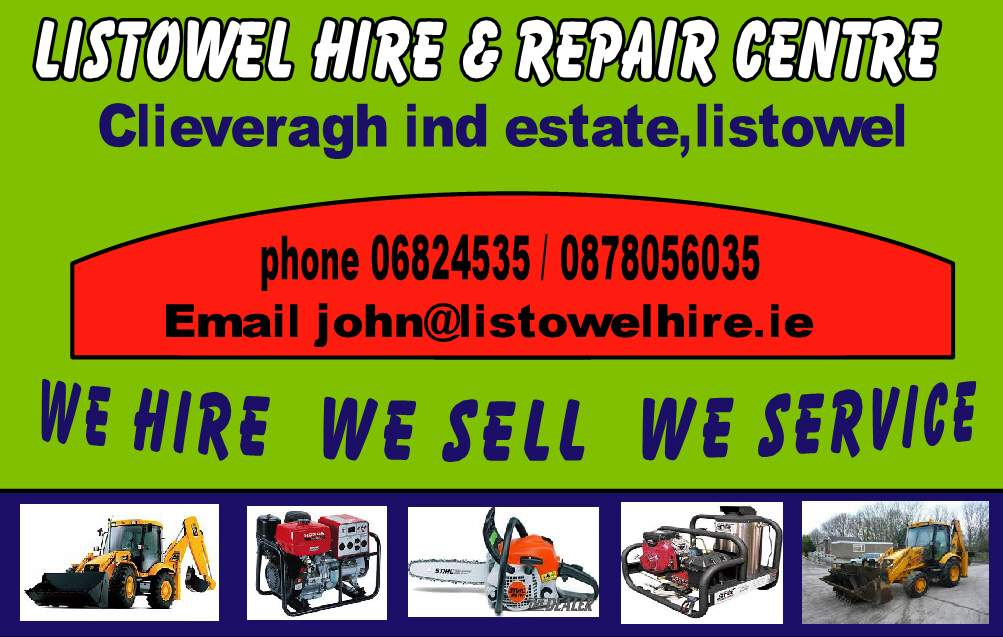 listowel hire and repair centre