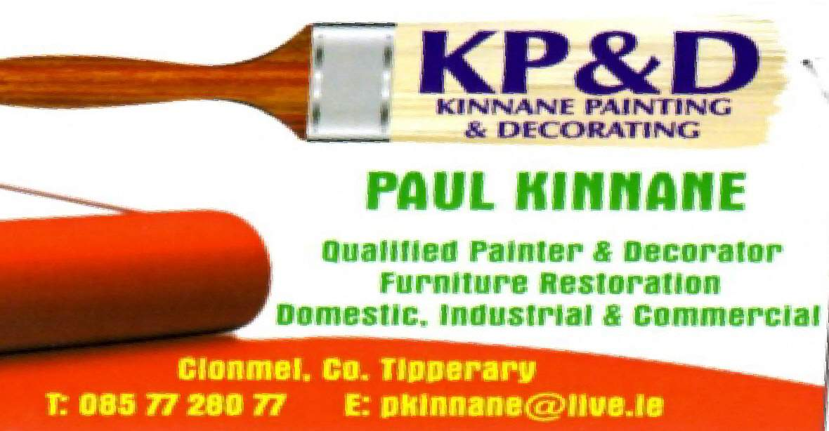 KP D  Kinnane Painting and Decorating